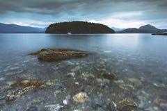 I bei scapes scenici di Vancouver e di Fraser Valley Immagine Stock