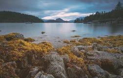 I bei scapes scenici di Vancouver e di Fraser Valley Immagini Stock