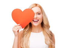 I believe in love! Royalty Free Stock Image
