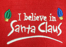 I believe in Santa Claus Royalty Free Stock Images