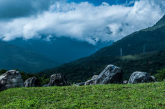 I bergen Arkivfoton