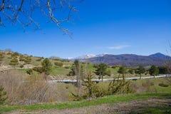 I bergen av Abruzzo italy Royaltyfria Foton