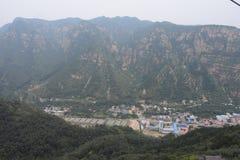 I berget Arkivfoto