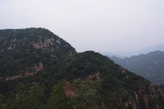 I berget Arkivfoton