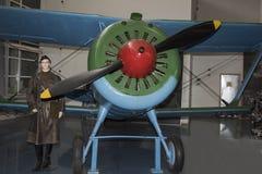 I-15 BIS - Fighter (1936) maximum Geschwindigkeit, km/h-370 Stockbild