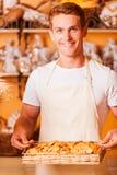 I biscotti al forno freschi per voi Immagine Stock Libera da Diritti