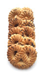I biscotti con il papavero fotografia stock libera da diritti