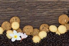 I biscotti sono pezzi Immagine Stock Libera da Diritti