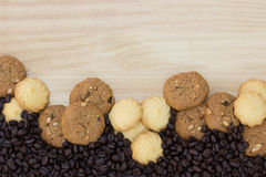 I biscotti sono pezzi Immagini Stock