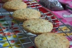 I biscotti su una rastrelliera Immagine Stock