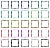 I blocchi per grafici variopinti hanno impostato Illustrazione di Stock