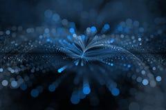 I blu leggeri Immagini Stock