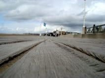 I bordi di Deauville fotografia stock libera da diritti