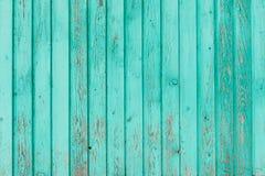I bordi di legno anziani hanno dipinto il fondo Immagini Stock