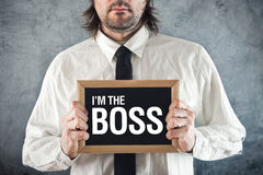 I am the Boss Stock Image