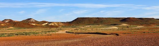 I Breakaways, Australia Meridionale Immagine Stock
