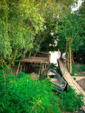 I brigdes del Danubio Fotografie Stock