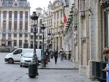 I Bruxelles Arkivfoto