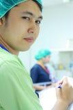 I.C.U. nurses royalty free stock image