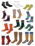 I calzini degli uomini Fotografia Stock