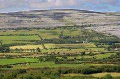 I campi di Burren fotografia stock libera da diritti