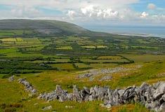 I campi di Burren fotografie stock libere da diritti