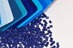 I campioni di colore con granulano Fotografie Stock Libere da Diritti