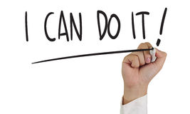 I Can Do It ! Stock Images