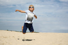 I can fly! Royalty Free Stock Image