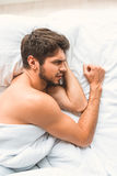 I can not sleep right now Stock Images