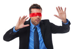 I can't see anything Stock Photo