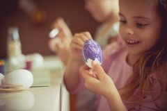 I can`t wait for Easter stock image