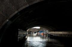 I canali di Copenhaghen Immagini Stock