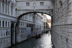 I canali di Venezia fotografia stock
