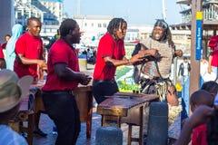 I cantanti sono Victoria e Albert Waterfront fotografia stock