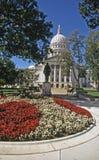 I capitali dello Stato con i fiori fotografie stock