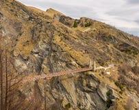I capitani gettano un ponte su in canyon dei capitani Immagini Stock