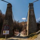 I capitani gettano un ponte su in canyon dei capitani Immagini Stock Libere da Diritti