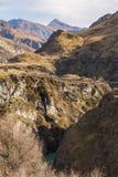 I capitani gettano un ponte su in canyon dei capitani Fotografia Stock