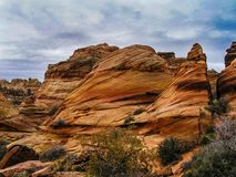 South Coyote Buttes Stock Photo