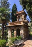 Taormina Gardens in Sicily royalty free stock image