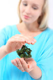 I care about the environment - green to me Stock Images