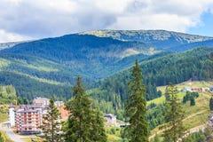 I Carpathians Immagini Stock