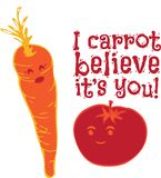 I Carrot Believe Its You Stock Photography