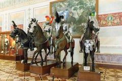 I cavalieri Corridoio dell'eremo dello stato, San Pietroburgo, Russi Immagine Stock