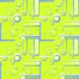 I cerchi e le bande senza cuciture modellano ricoprire grigio beige bianco di verde di calce del limone Fotografie Stock