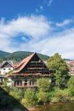 I cervi dell'hotel in Forbach Immagini Stock