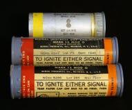 I chiarori di WWII Stati Uniti M8 si chiudono su Immagini Stock