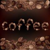 I chicchi di caffè Immagini Stock