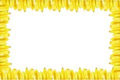 I chip della banana hanno fatto le cornici Fotografia Stock Libera da Diritti